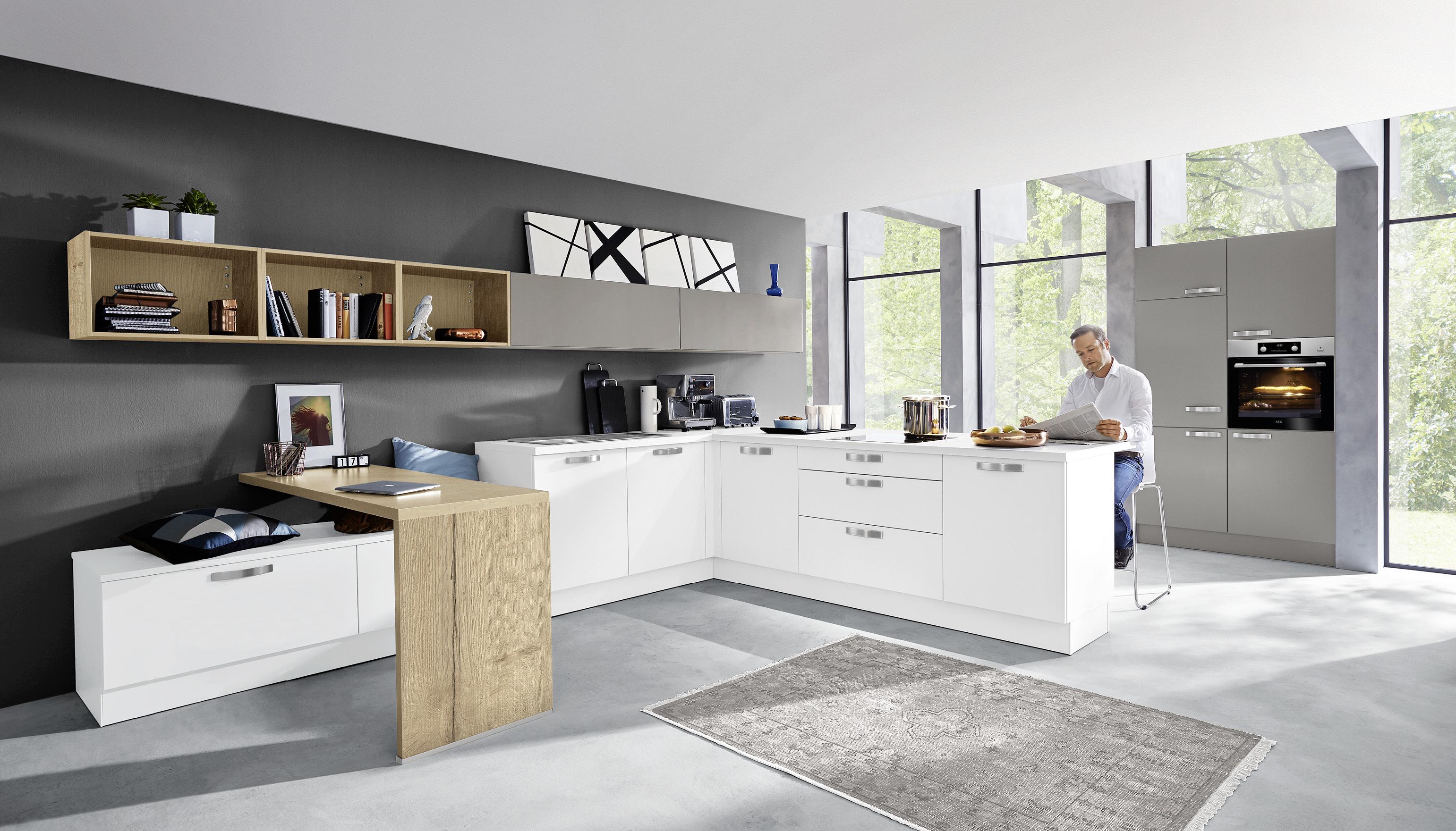 insel kchen abverkauf designkche in steingrau with insel